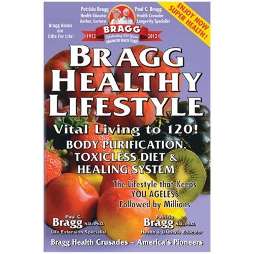 Bragg Healthy Lifestyle  Book - Paul & Patricia Bragg