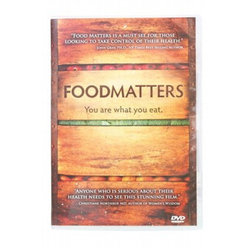 Food Matters (The Movie) You Are What You Eat - DVD 80 min