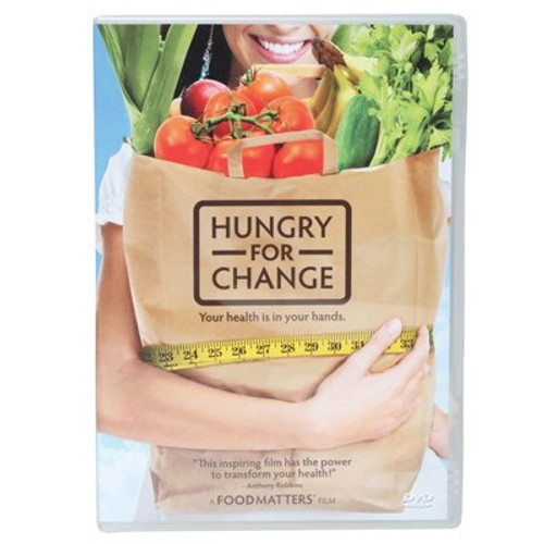 Hungry For Change (The Movie) Your Health Is In Your Hands - DVD 89 min