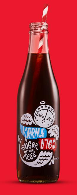 Karma Cola Natural Sugar free 300ml - Karma Cola