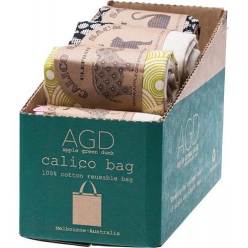 Calico Bag Mixed - Apple Green Duck
