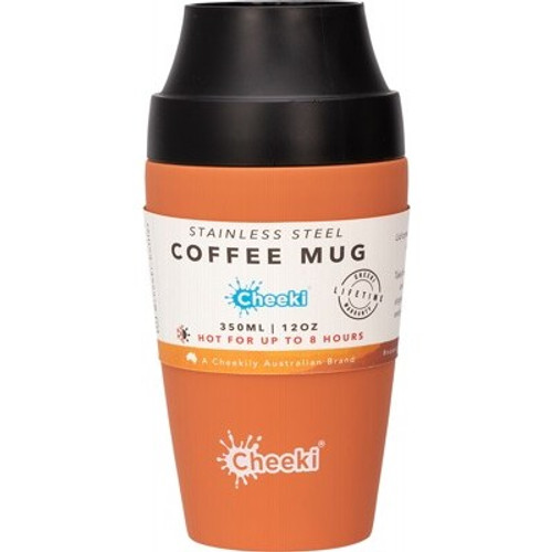 Coffee Mug Rust 350ml/12oz - Cheeki