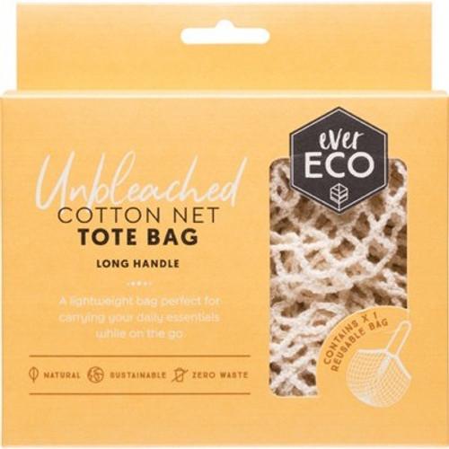 Tote Bag Cotton Net - Long Handle - Ever Eco