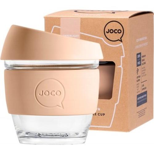 Coffee Cup Reusable Glass Amberlight (8oz) 236ml - Joco