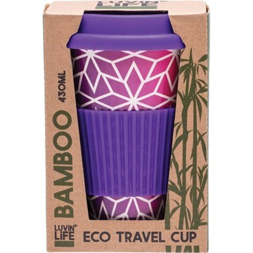 Bamboo Eco Travel Cup Stars 430ml  - Luvin Life