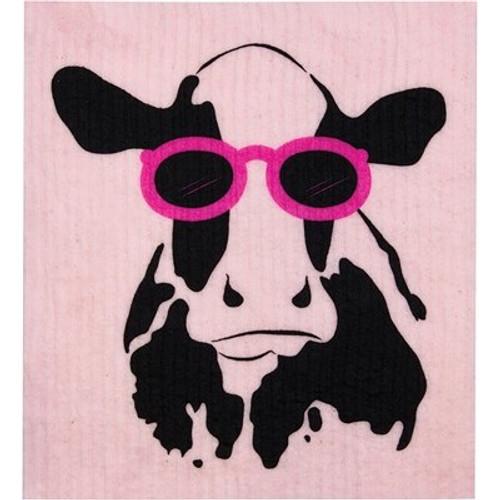 Sponge Dishcloth 100% Biodegradable Cow - RetroKitchen