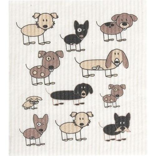 Sponge Dishcloth 100% Biodegradable Dogs - RetroKitchen