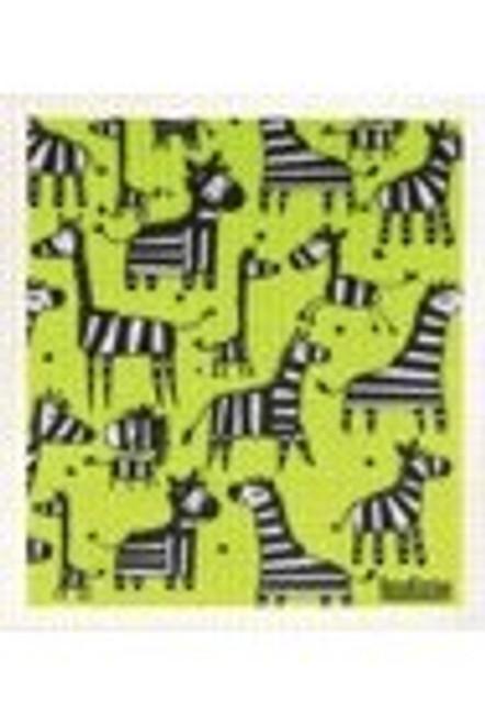 Sponge Dishcloth 100% Biodegradable Zebra - RetroKitchen