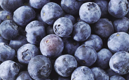 Blueberries WILD Frozen Organic 1kg - Elgin