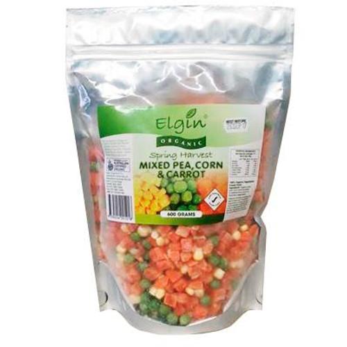 Spring Harvest Frozen Organic 600g - Elgin