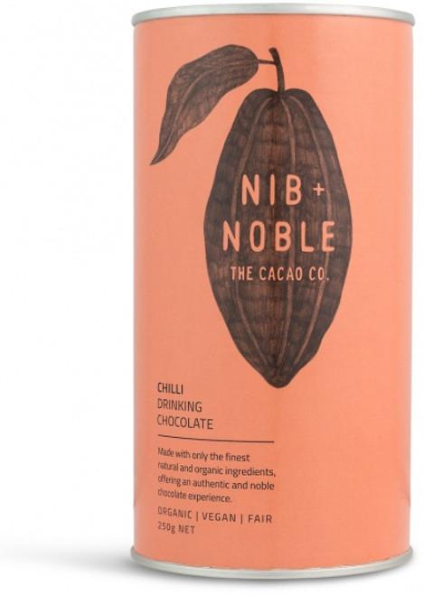 Drinking Chocolate Organic Choc Chilli 250g - Nib & Noble