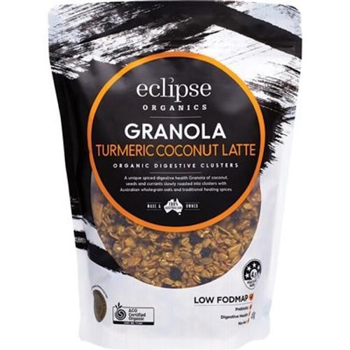 Muesli Granola Turmeric Coconut Latte Organic 450g - Eclipse Organics