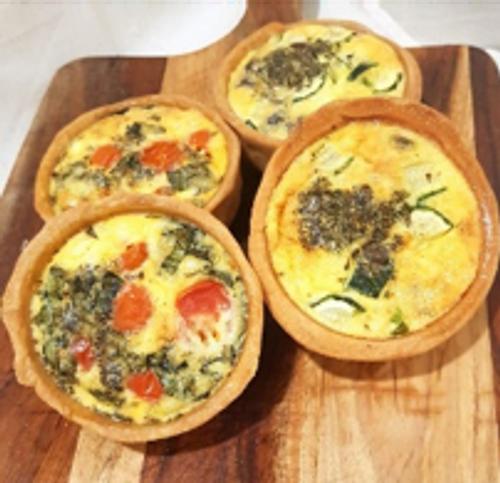 Mushroom Pesto & Leek Tart - Sol