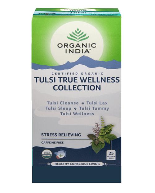 Tulsi True Wellness Collection Tea Organic 25 Bags - Organic India