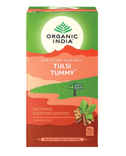 Tulsi Tummy Organic 25 Bags - Organic India