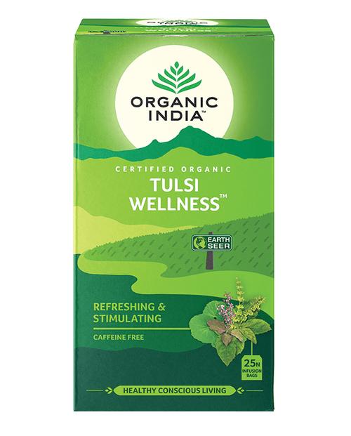 Tulsi Wellness Organic 25 Bags - Organic India
