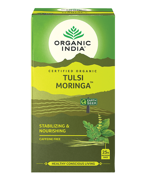 Tulsi Moringa Organic 25 Bags - Organic India