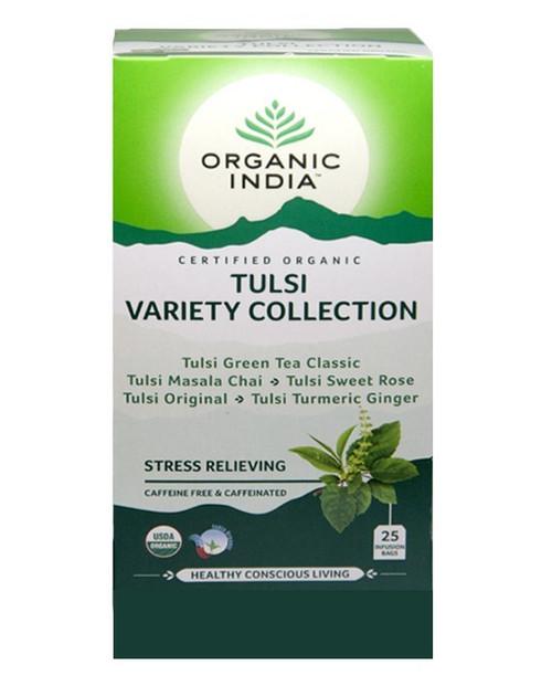 Tulsi True Variety Collection Organic 25 Bags - Organic India