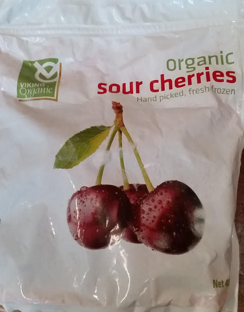Sour Cherries Frozen Organic 400g - Viking