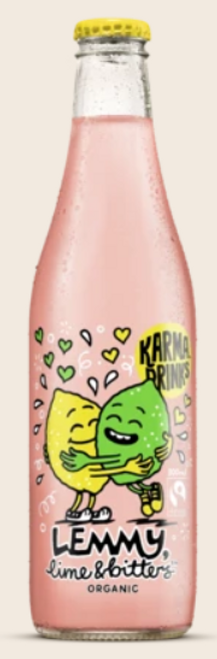 Lemmy Lime & Bitters Organic 300ml - Karma Cola