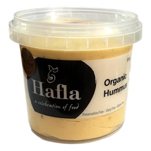 Hummus Organic 350g - Hafla Gourmet