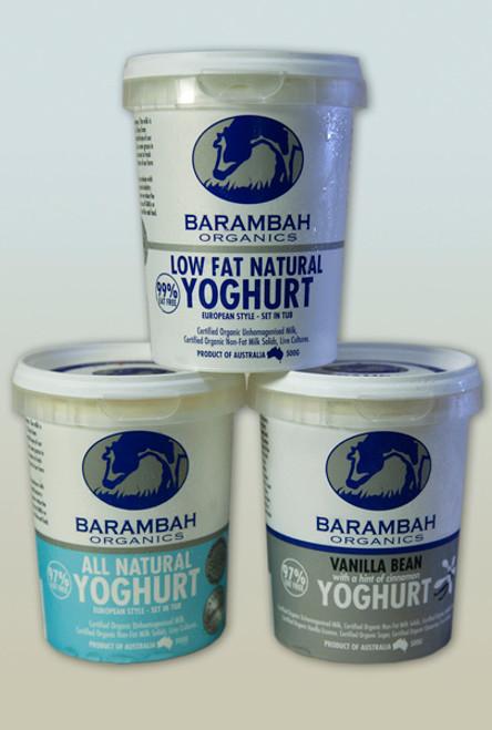 Yoghurt Vanilla Bean Organic 500g - Barambah