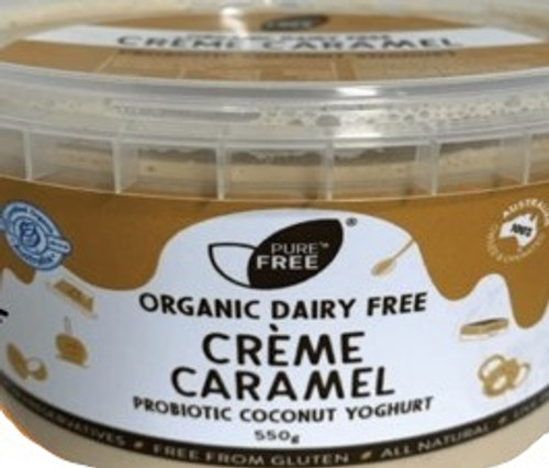 Coconut Yoghurt Creme Caramel Organic 550g - PureNFree