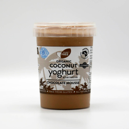 Coconut Yoghurt Chocolate Mousse Organic 200g - PureNFree