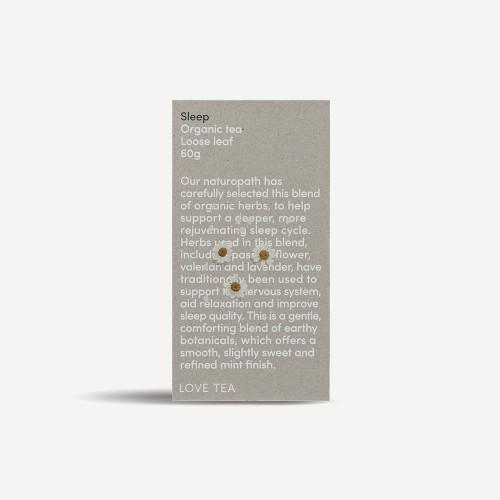 Sleep Loose Leaf Organic 60g - Love Tea