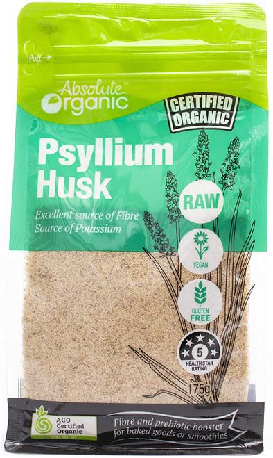 Psyllium Husk Organic 175g - Absolute Organic