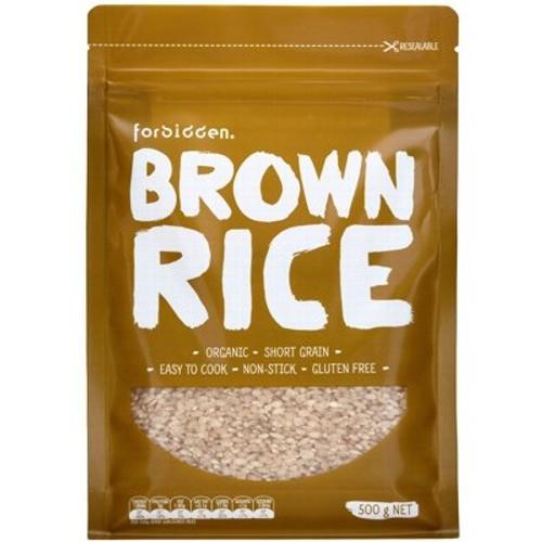 Brown Rice Organic 500g - Forbidden