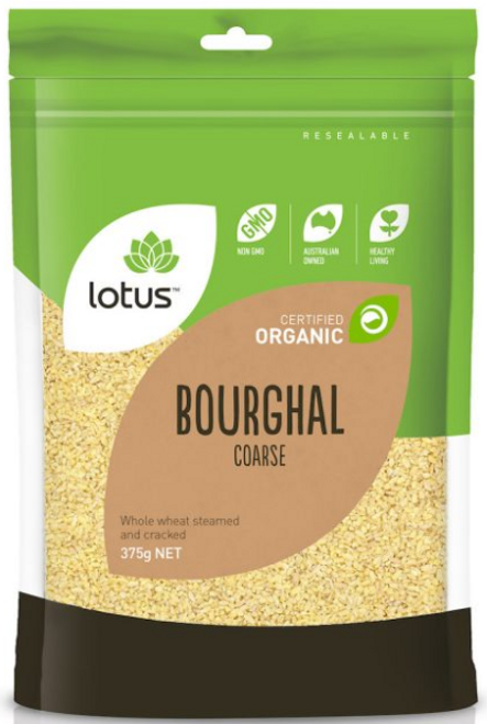 Bourghal (Wheat) Course Organic 375g - Lotus