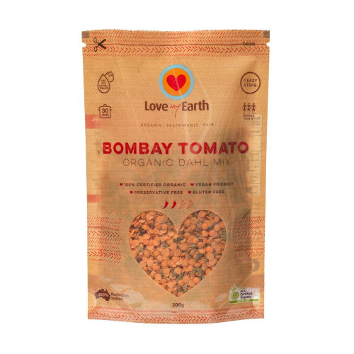 Bombay Tomato Dhal Mix Organic 200g - Love My Earth