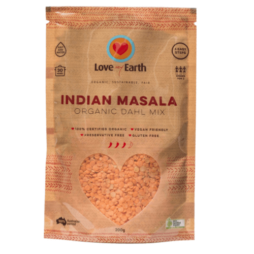 Indian Masala Dhal Mix Organic 200g - Love My Earth