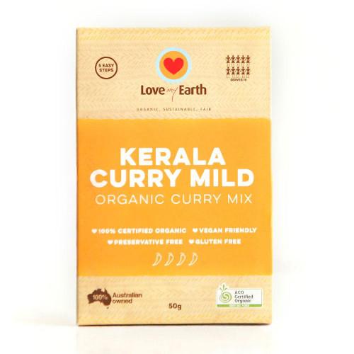 Kerala Curry Mix Mild Organic 50g - Love My Earth