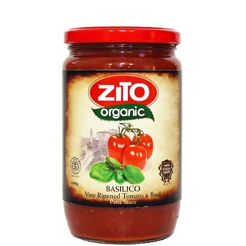 Pasta Sauce Tomato & Basil 690g - Zito