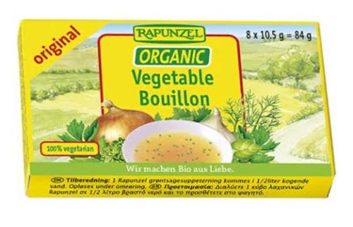 Vegetable Bouillon Cubes (Original) Organic 84g - Rapunzel