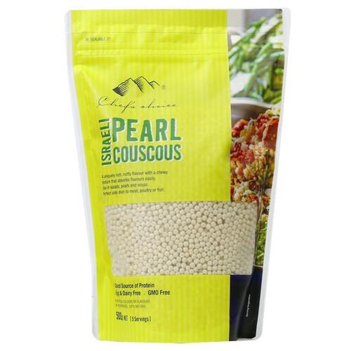 Couscous Israeli Pearl Wheat 500g - Chefs Choice