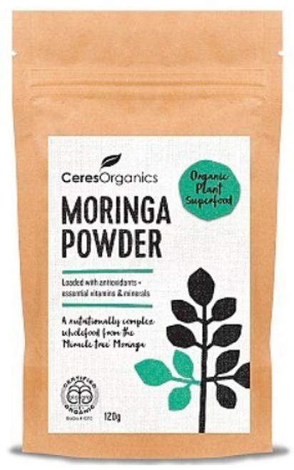 Moringa Powder Organic 120g - Ceres