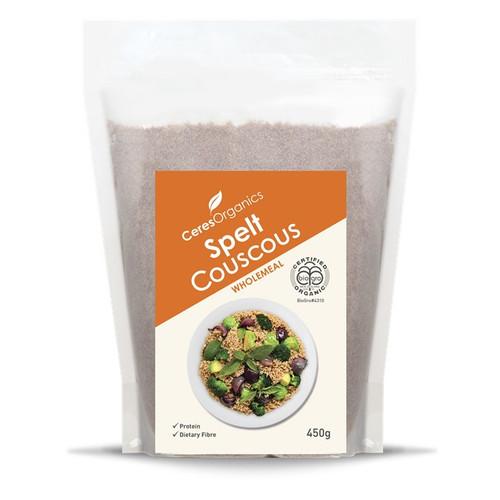 Couscous Spelt Wholemeal Organic 450g - Ceres Organics