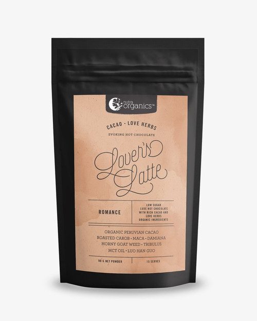 Lovers Latte (Cacao & Love Herbs) 90g - Nutra Organics
