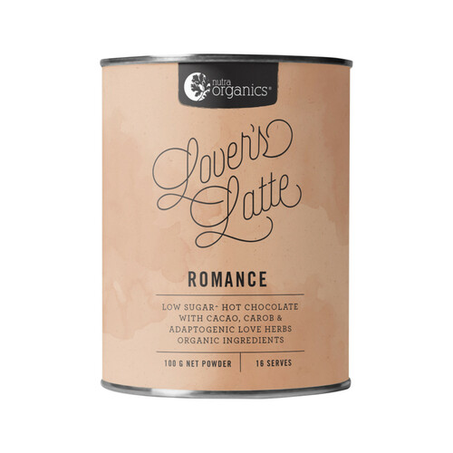 Lovers Latte (Cacao & Love Herbs) 100g - Nutra Organics