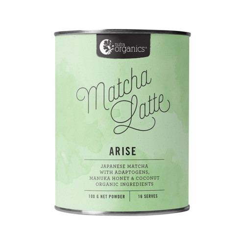 Matcha Latte Organic 100g - Nutra Organics