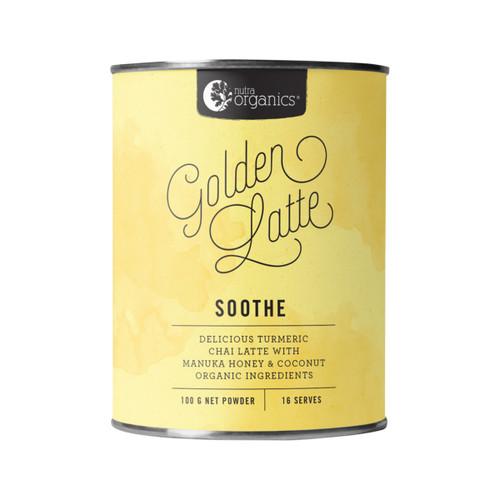 Golden Latte Organic 100g Canister - Nutra Organics