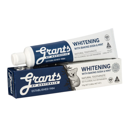 Toothpaste Whitening baking Soda & Mint 110g - Grants