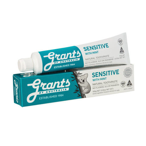 Toothpaste Sensitive with Mint 100g - Grants