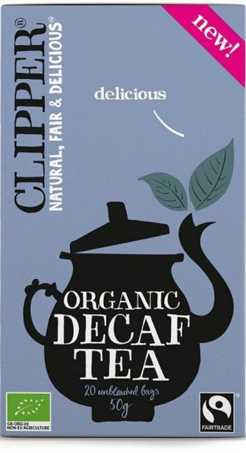 Decaffeinated Black Tea Organic 20 bags - Clipper