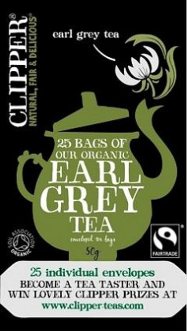Earl Grey Tea Organic 20 bags - Clipper