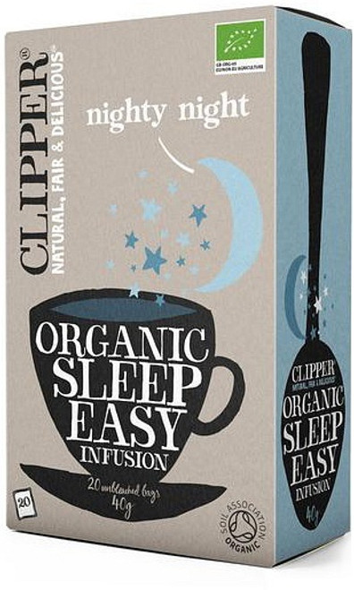 Sleep Easy Fusion (Nighty Night) Tea Organic 20 bags - Clipper