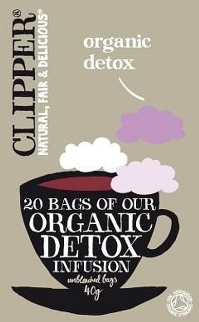 Detox Infusion Tea Organic 20 bags - Clipper